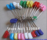 Sewing Needles & Pins baby lock sewing - Locking Baby Safety Cloth Nappy Diaper Craft Pin safety pin