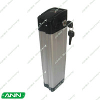electric bicycle battery Rechargeable 48v  New electric bicycle battery 48v 10ah lithium battery sliver fish case