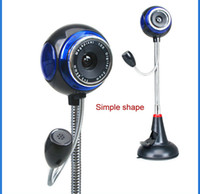 2 Mega CCD USB Digital USB Cmos Webcam With 8 Mega Oixel PC Camera Night Vision Web Cam w,With Infrared+Microphone HD Computer Webcam Free DHL