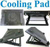 Wholesale High quality Superior Laptop Notebook cooling pad USB cooler pad for laptop notebook with Adjustable Angle Stand Bigger fan