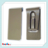 Wholesale Beadsnice ID26421 stainless steel money clip top quality wallet card holder blank money clips