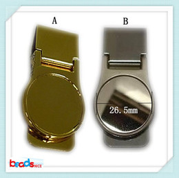 Wholesale Beadsnice ID mens money clips stainless steel money clip perfect for personalized gift