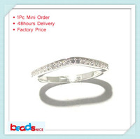 Women's Party Bezel setting Min order is $10 mix order free shipping Beadsnice ID26771 925 silver Line Over The Midi Tip Finger Above The Knuckle Ring