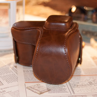 Wholesale New high quality camera case bag suit for Samsung NX2000 pu leather camera case