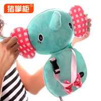 Wholesale Fashion toys Elephant plush toy CD bag ZZG