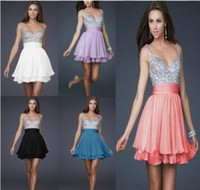 Ruffle best dress fabric - Best Selling A line Best Selling Hot Fashion Sparkly Sequins Fabric Short Party Beaded Chiffon Prom Dresses Bridesmaid Dress