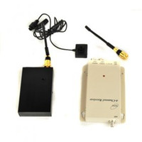 Wholesale High Power mw GHz Wireless Button Camera and Receiver Kit