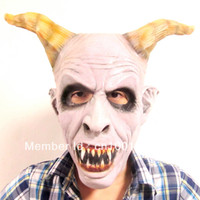 Wholesale Creepy Big Nose Halloween Mask For Cosplay and Costome Horror Mask in Computer Game