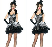 People queen size sexy lingerie - High quality Sexy Halloween Costumes Witch Costumes game Sexy Dresses Sexy uniforms Sexy lingerie Queen of Darkness Costume Sexy DS Dress