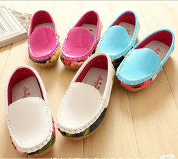 Wholesale 10 off Hot white red blue non slip bottom toddler shoes children s casual shoes cheap shoes sale baby shows wear on sale pairs ZL