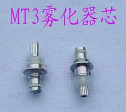 Atomizadores al por mayor en Línea-Mayorista - MT3 Atomizador Cambiante de la bobina de la cabeza del núcleo Desmontable de la Bobina de la Cabeza Reemplazable Kanger T3 Cartomizer de la Bobina de la Cabeza para EVOD MT3 Clearomizer