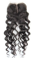 Wholesale OEM High Quality Best Collocation With Your Brazilian Hair x4inch Top Lace Closure Natural Black Color Brazilian Hair DHL Free
