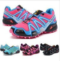 Wholesale 2014 WOMEN s Salomon Nordic walking jogging New Arrival Colors Sport alomon Running shoes Sneakers china Post Air Mail