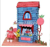 Wholesale Fashionable style wholesales intelligence toys Creative DIY magic corn children assembles toy grain