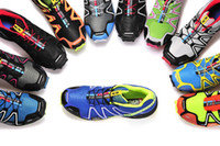 Men Mesh Rubber 2014 Cheap men Salomon Nordic walking jogging 20 Colors Sport alomon Running shoes Sneakers HongKong Post Air Mail Free Shipping SZ 40-46