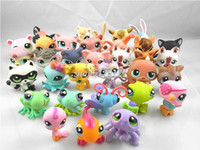Wholesale Littlest Pet Shop LPS Animasl Loose Figures Cute Plastic Toys Collection toy