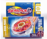 Wholesale Hot beyblade metal fusion new mixed deliver SUPER GYRO Beyblade Beyblade spinning top toy