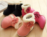 Wholesale 10 off New baby cotton shoes yards winter boots snow infant toddler shoes baby shoes cheap flowers children pairs ZL