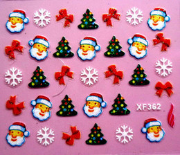 Wholesale Christmas party Christmas gift Christmas eve nail stickers nail decals