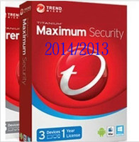 Wholesale Trend Micro Titanium Maxmium Security Year license key activation code all language