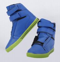 Wholesale Brand new Hip hop Shoes Men s Sports Shoes Casual Shoes Skate Shoes Blue color t