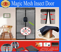 Wholesale Net Screen Magnets New Magic Mesh Insect Fly Bug Nsect Mosquito Door Curtain
