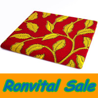 Wholesale YELLOW LEAVES african real wax fabric for EVENT celebration PARTY DRESS FOR HOME DECORATION yards Item No H451