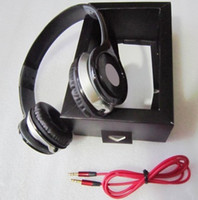 Wholesale Stereo DJ Headphone Fashion High Quality Foldable Headset with Retail Box and Universal cable for iphone ipad ipod cell phone PC MP3 MP4