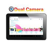 Wholesale 9 inch A13 Dual Camera Android ALLwinner tablet PC Capacitive M G WIFI