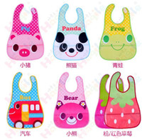 Wholesale Waterproof Baby Bibs Feeding Clear Kid Head Scarf EVA Soft Bandana Infant Bibs Burp Cloths BB91