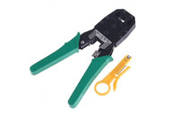 Wholesale RJ45 RJ11 RJ12 Wire Cable Crimper Crimp PC Network Tool