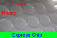 Wholesale inch mm cricle epoxy sticker resin clear epoxy stickers express shipping