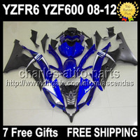 7gifts Fairing For YAMAHA YZFR6 08- 12 Factory blue YZF600 YZ...