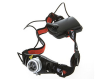 Wholesale Ultra Bright Lumen CREE Q5 LED Headlamp Headlight Zoomable for Camping Hiking Cycling Climbing