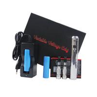 Lavatube Prix-Nouveau Modèle de Tube de Lave Tension Variable <b>Lavatube</b> Kit E-cigarette avec 2 *Clearomizer Ce4 ou 2 * Vivi Nova Tank et chargeur de batterie
