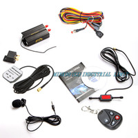 Wholesale gps trackingr Vehicle Car GPS Tracker B with Remote Control GSM Alarm SD Card Slot Anti theft car alarm system