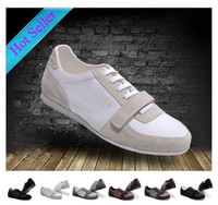Wholesale Fashion brand Men s Shoes casual Sneakers genuine leather sports Shoes French Brand leisure Shoes Size
