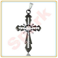 Yes stainless steel cross pendant - New Stainless Steel Helm Pendant Stainless Steel Cross Pendant Stainless Steel Jewellery Free Shippi
