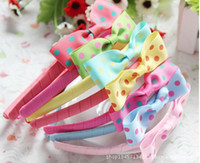 Wholesale Freeshipping mix order kids Baby accessorieschildren girls hair ornaments hair bands hair clips bows12 pieces JH6104