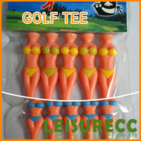 Wholesale 1pcs Packaging Genuine new special golf TEE T beauty plastic ball TEE personality Toby Gini golf Tee Ball