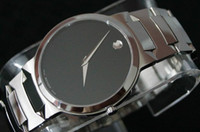 Wholesale NEW MOVAEMO BLACK DIAL SERIES MODE05903 STAINLESS STEEL MENS WRIST WATCH