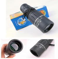 Wholesale Huting camping Rubber Armoring ZOOM X52 Monocular Telescopes