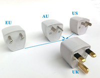 Wholesale Necessary gadget US EU AU to UK AC plug adapter switch converter