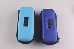NEWEST and Colorful ego carrying case ecig box with ego logo eGo s-size Carry Case in 11 colors zipper case packing