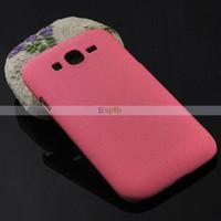 Plastic For Samsung Accept Colorful Hard Plastic Quicksand Matte Skin Back Cover Case Cases for Samsung Galaxy mega 5.8 I9150