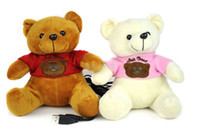 Wholesale Cute lovely Doll Toy cartoon USB speaker Clad bear