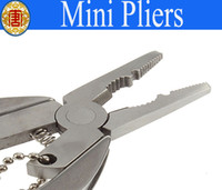 Wholesale Multi Function tool in Mini Tool Pliers Keychain Mini Pliers Freeshipping
