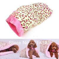 Wholesale HOT SALE pet product supplies luxurious sleeping bag pet bed high quality fabric product dog bed FOR winter