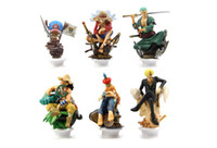 Wholesale New Japanese Anime One Piece CHESS PIECE COLLECTION PVC Figure Set Icludes set