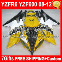 7gifts R6 08- 12 For YAMAHA YZF R6 08 09 10 11 12 YZF 600 YZF...